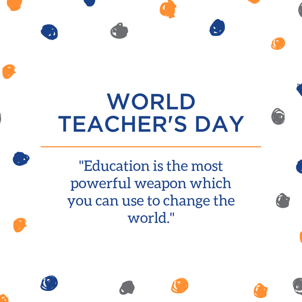 world teacher's day
