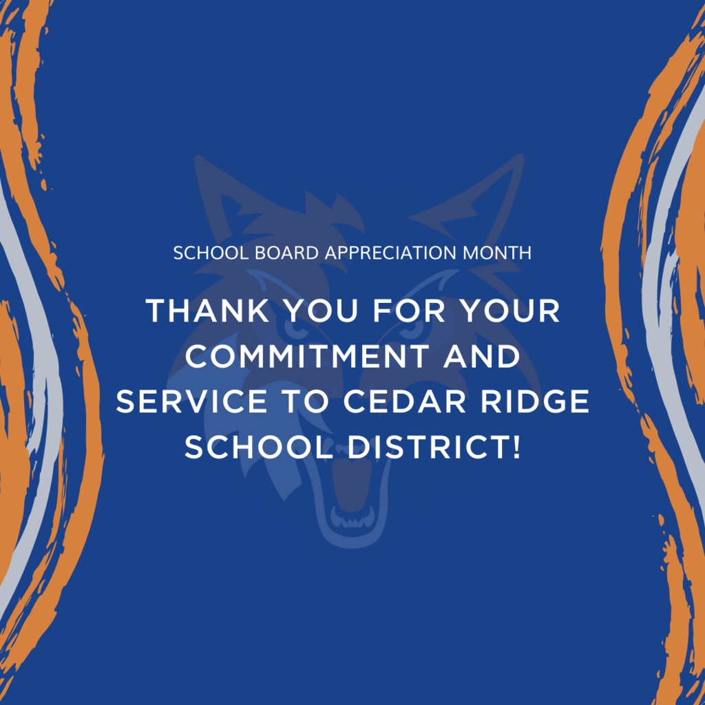 school board appreciation post